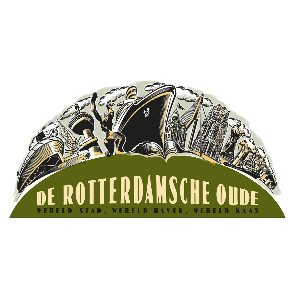de rotterdamsche oude logo oud