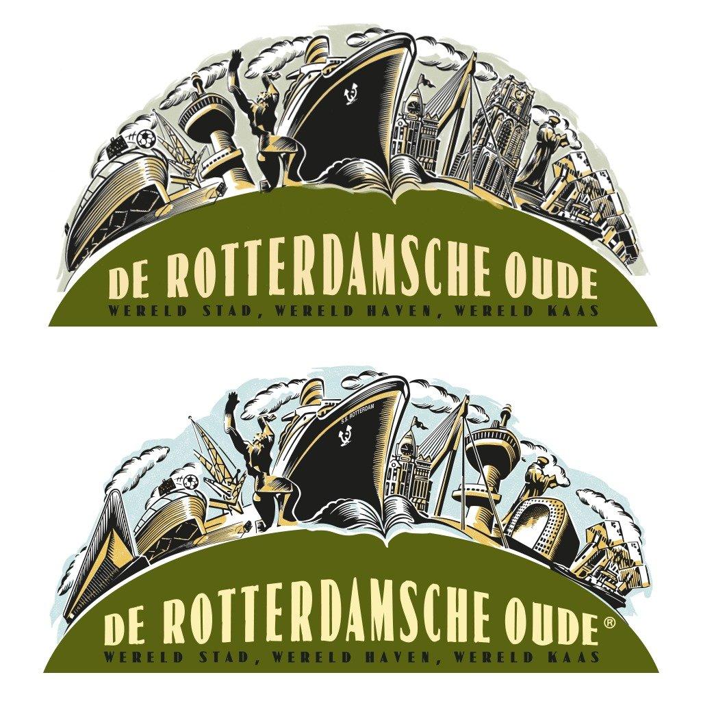 de rotterdamsche oude logo