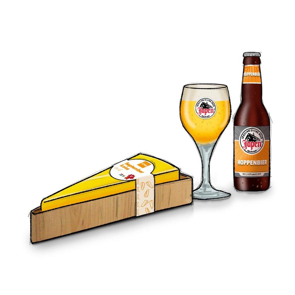 foodpairing: kaas en bier