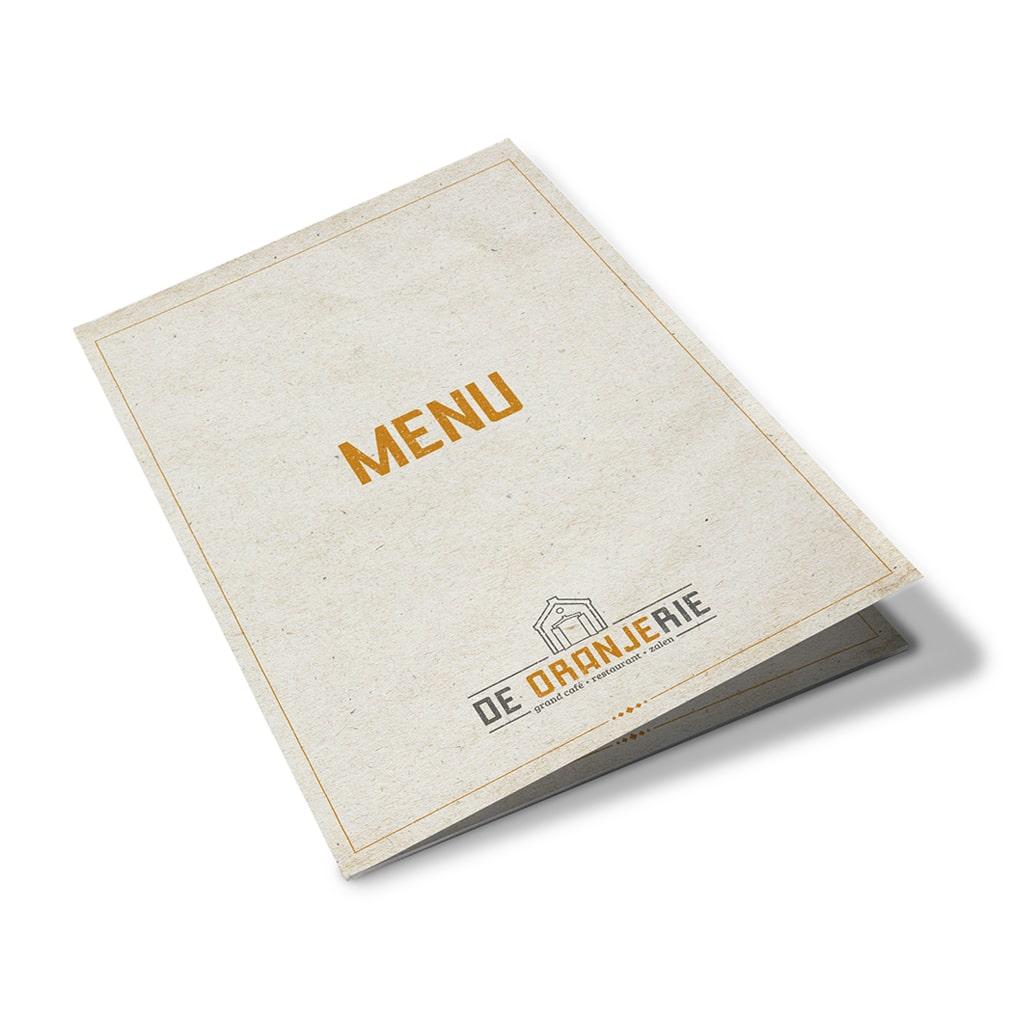 menukaart Grand-Café De Oranjerie